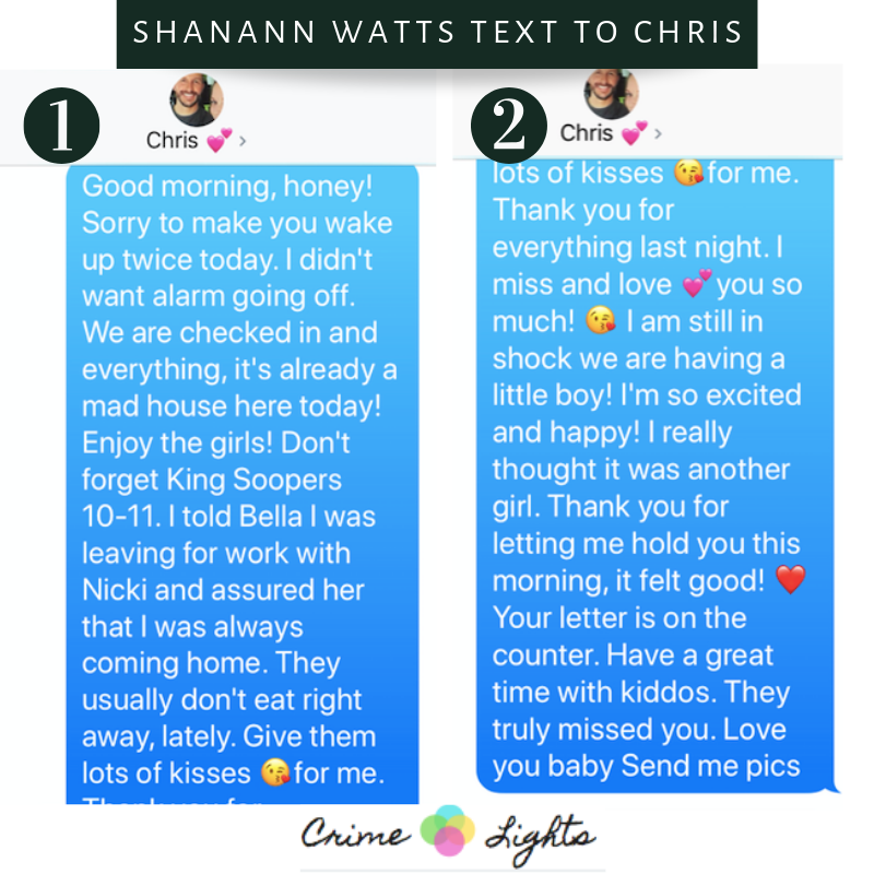 Shanann Watts Letter to Chris Watts Revealed - CrimeLights